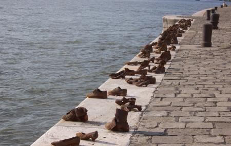 Shoes On The Danube Bank Image