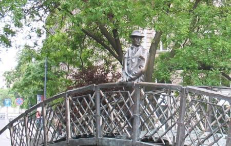 Statue Of Imre Nagy Image