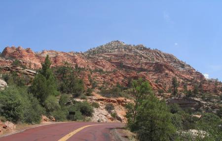 Zion-mt. Carmel Highway, Zion National Park