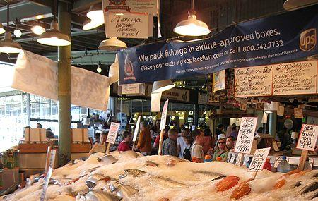 Pike Place Fish Market Image