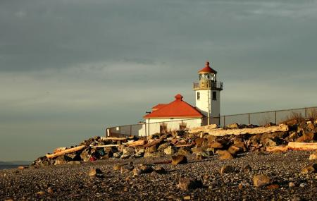 Alki Point Lighthouse Image