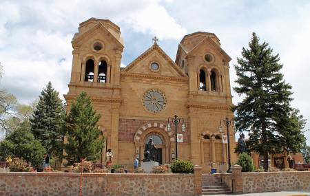 Cathedral Basilica Of St Francis Of Assisi Image