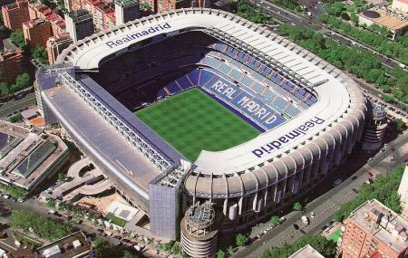 Santiago Bernabeu Stadium Image