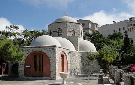 Monastery Of Profitis Ilias Image