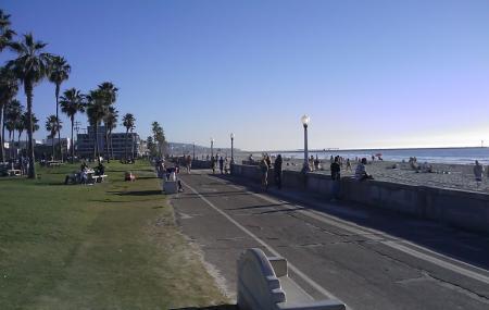 Mission Beach Boardwalk Image