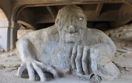 The Fremont Troll Image