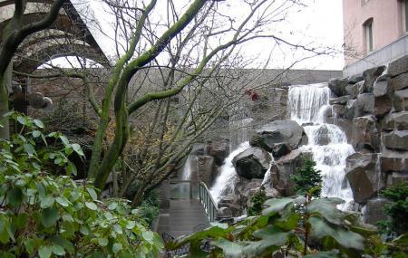 Seattle Waterfall Garden Image