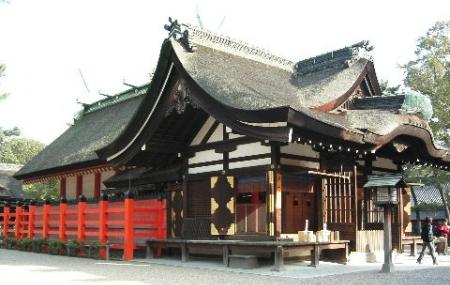 Sumiyoshi Taisha Shrine Image