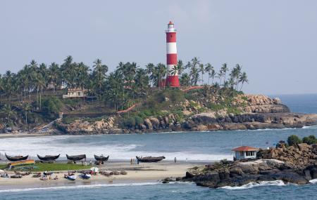 Vizhinjam Lighthouse And Beach Image