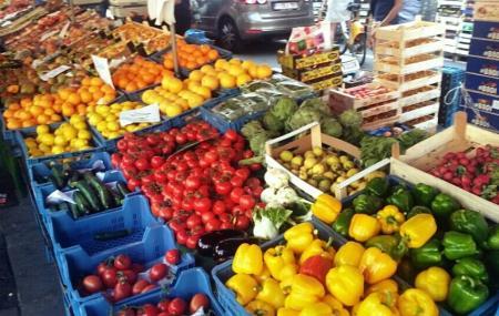 Market Place Du Chatelain, Brussels