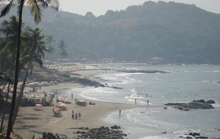 Vagator Beach Image