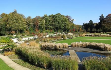 Jardins Du Fleuriste Du Stuyvenberg Image