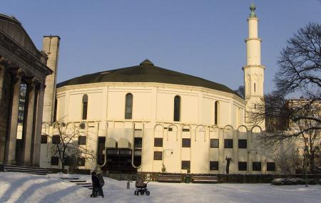 Great Mosque Of Brussels Image