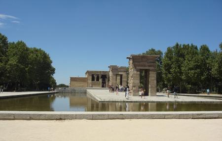 Jardins Do Templo De Debod Image