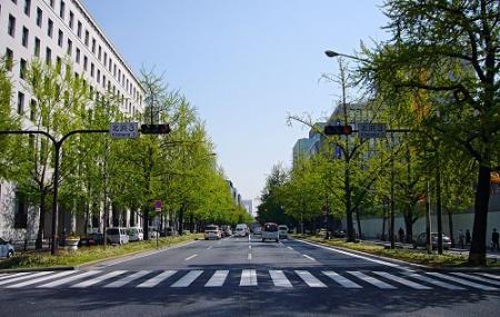 Midosuji Sculpture Street Image