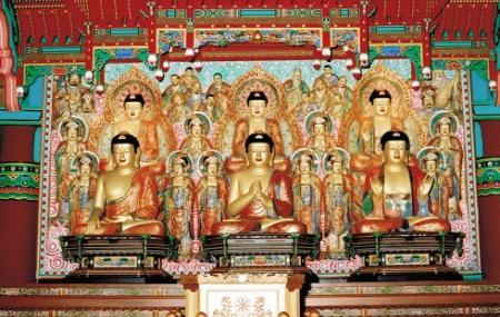 Mu-ryang-sa Buddhist Temple Image