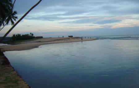 Kappil Beach And Lake Image