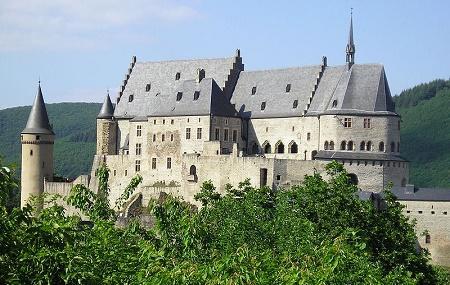 Vianden Castle Image