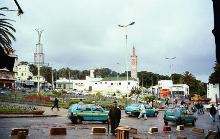 The Grand Mosque Of Tangier Image