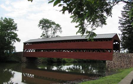 Sachs Covered Bridge Image