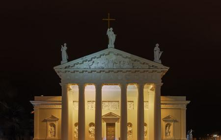 Vilnius Cathedral Image