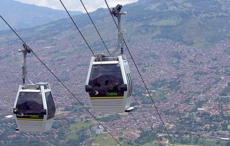 Medellin Metrocable, Medellin