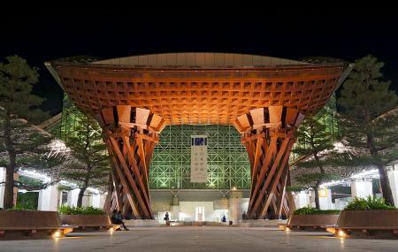 Tsuzumi Gate And Motenashi Dome Image