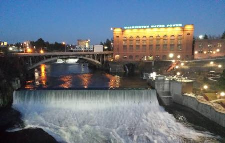 Spokane Falls And Monroe Street Bridge Image