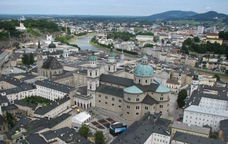 Salzburg Old Town Image