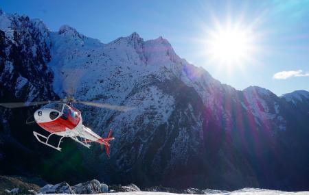The Helicopter Line Franz Josef Glacier Image