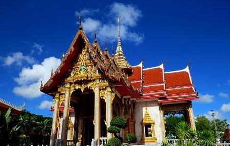 Wat Chalong Temple Image