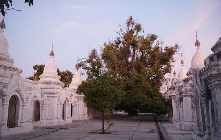 Kuthodaw Pagoda & The World's Largest Book Image