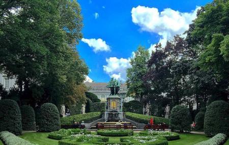 Jardin Du Petit Sablon, Brussels