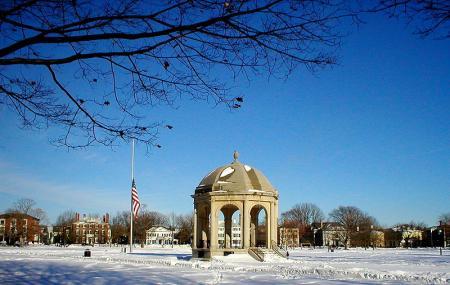 Salem Common Historic District And Stickworks Statue Image