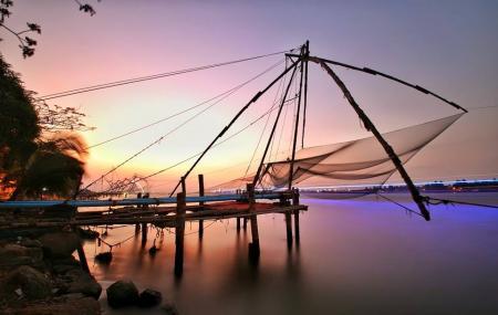 Chinese Fishing Nets Image