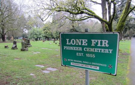 Lone Fir Pioneer Cemetery Image