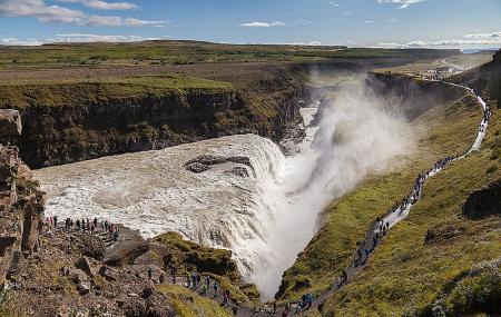Gullfoss Waterfall Image