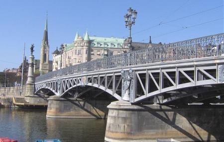 Djurgarden Bridge And Island Image