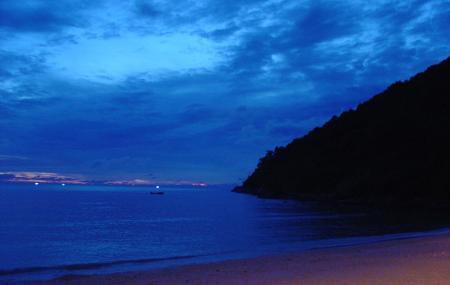 Tri Trang Beach Image