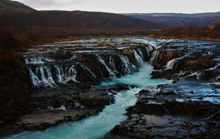 Bruarfoss Waterfall Image