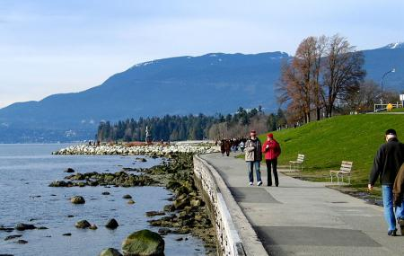 Seawall In Vancouver Image