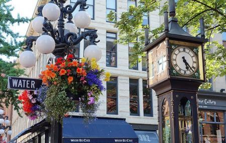 Vancouver Steam Clock Image