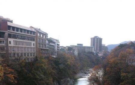 Kinugawa Onsen Fureai Bridge Image