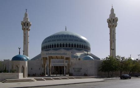 King Abdullah Mosque Image
