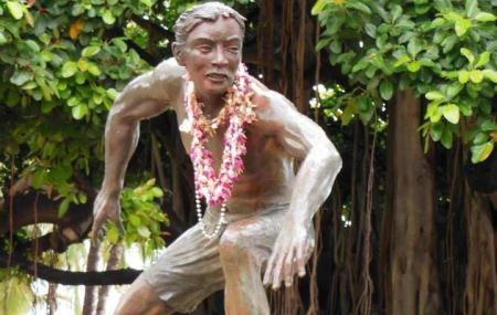 Surfer Statue Image