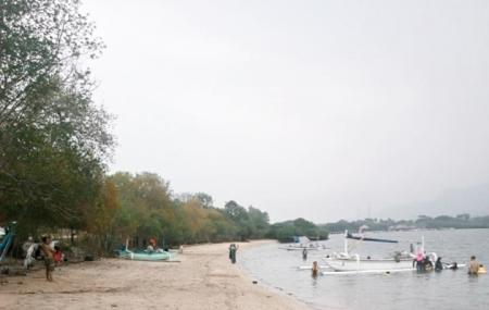 White Sand Beach Image