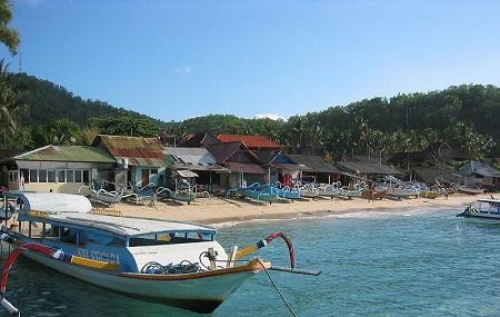 Padang Bai Fishing Village Image