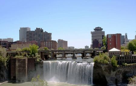 Genesee River's High Falls Image
