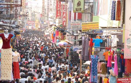 T Nagar And Ranganathan Street Image