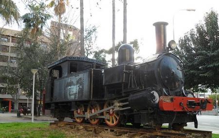 Locomotora Del Ferrocarril Alcoy-gandia Image